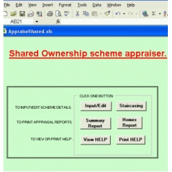 Shared Ownership Scheme Development Appraiser