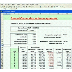 Shared Ownership Project Appraiser Software