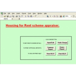 Rented Housing Project Appraiser Software